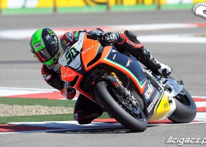 Eugene Laverty Team Aprilia