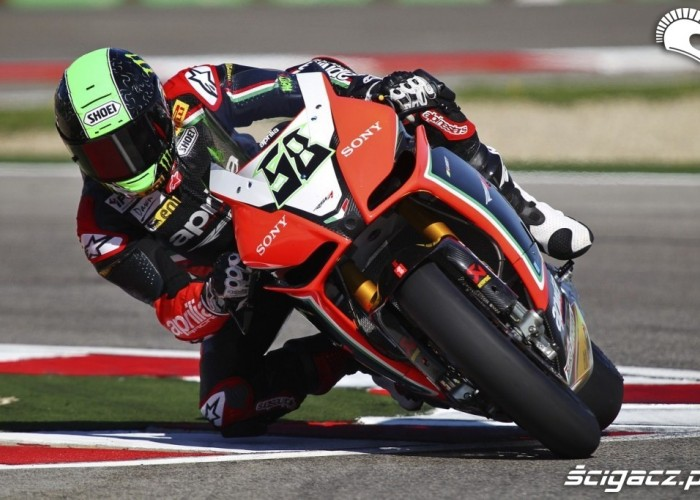 Eugene Laverty na Imoli