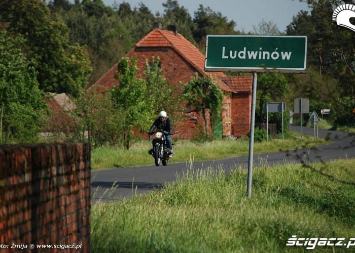 Ludwinow motocyklista