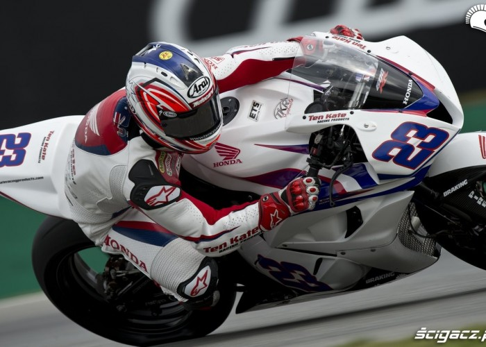 honda na Supersport Brno