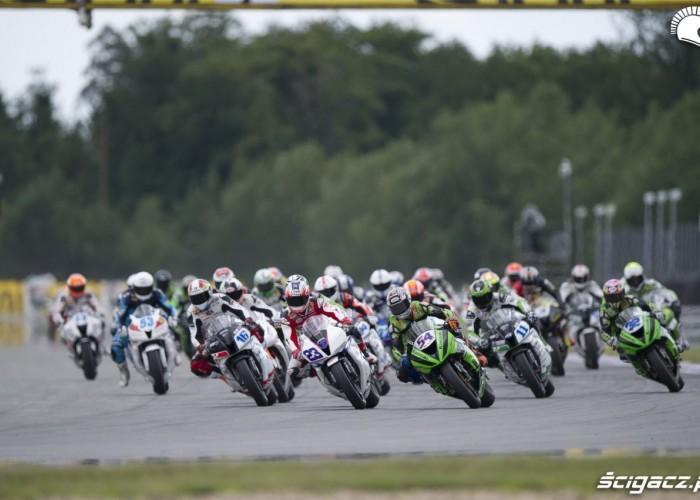 klasa Supersport na torze Brno
