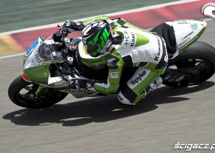 Foret Kawasaki supersport aragon 14