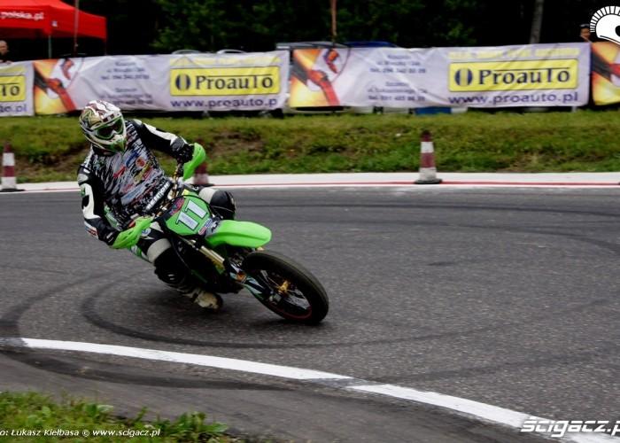 Karol Mochocki slide supermoto