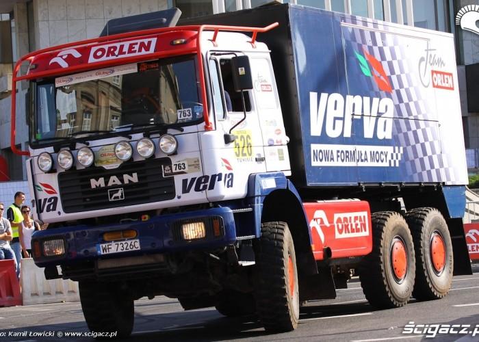 Ciezarowka teamowa Wyscigi Uliczne Verva Street Racing