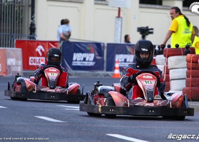Gokarty Wyscigi Uliczne Verva Street Racing