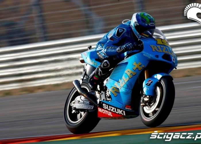 Alvaro Bautista racing