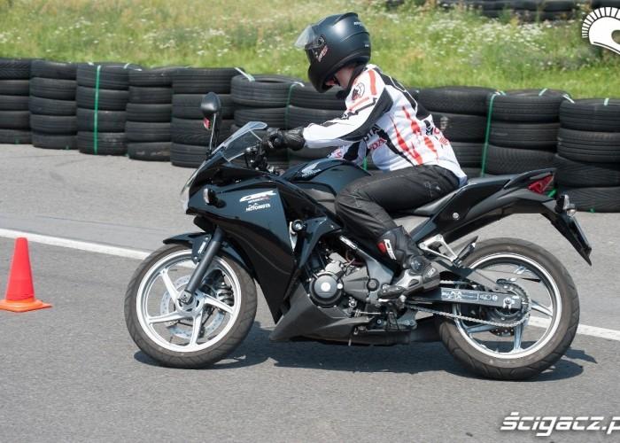CBR 125 Honda Gymkhana Radom 2012