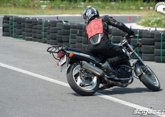 GS500E Honda Gymkhana Radom 2012