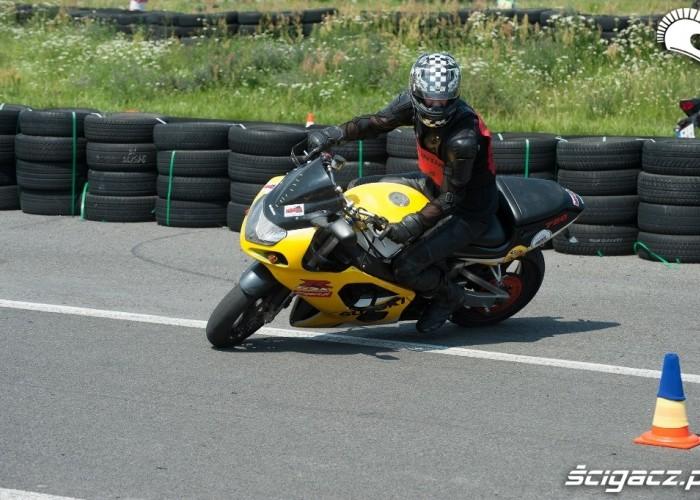 GSX-R na Honda Gymkhana Radom 2012