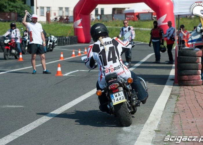 Miska Honda Gymkhana Radom 2012