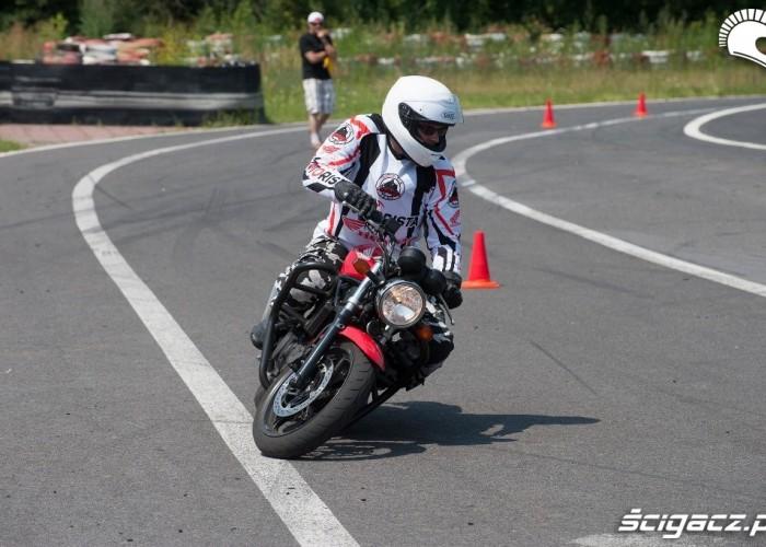 Patrol przejazd Honda Gymkhana Radom 2012