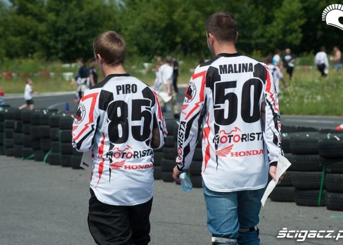 Piro i Malina Honda Gymkhana Radom 2012