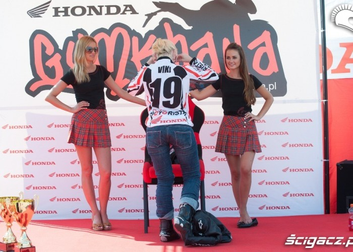 Viki Honda Gymkhana Radom 2012