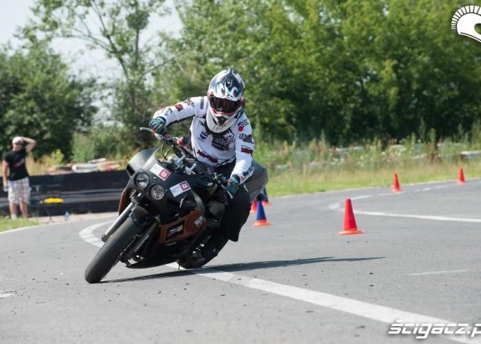 bez owiewki Honda Gymkhana Radom 2012