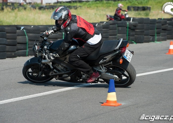 cbrf600 Honda Gymkhana Radom 2012