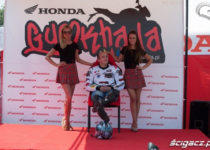 chwila relaksu Honda Gymkhana Radom 2012