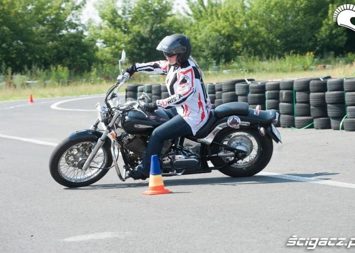 ciezkie moto Honda Gymkhana Radom 2012
