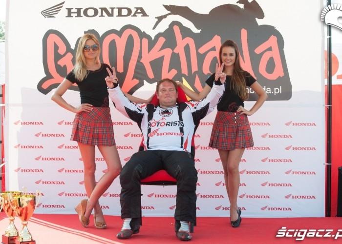 dwie viktorie Honda Gymkhana Radom 2012