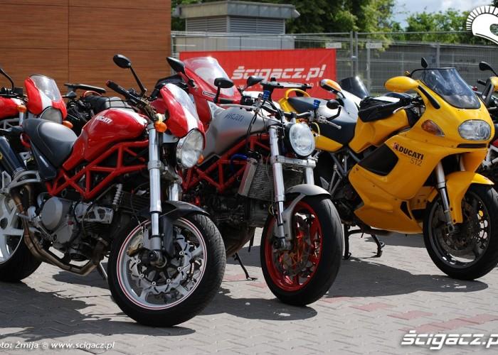Ducati zlot motocyklowy
