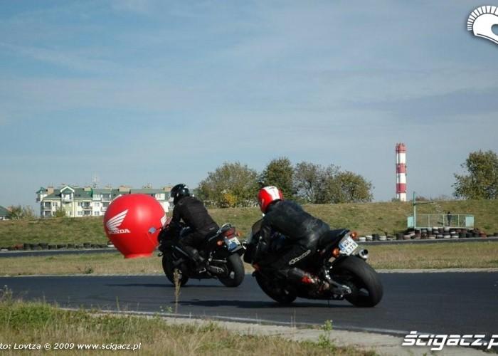 Dzien bezpiecznej jazdy z Honda Tor Lublin 13