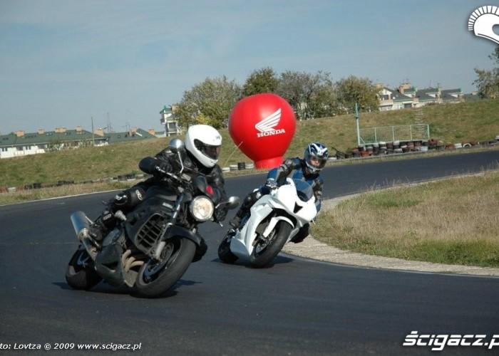 Dzien bezpiecznej jazdy z Honda Tor Lublin 3