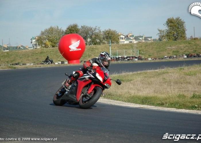Dzien bezpiecznej jazdy z Honda Tor Lublin 4