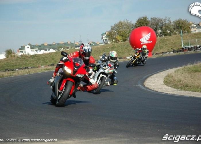 Dzien bezpiecznej jazdy z Honda Tor Lublin 5