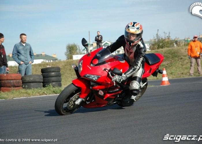 Dzien bezpiecznej jazdy z Honda Tor Lublin CBR