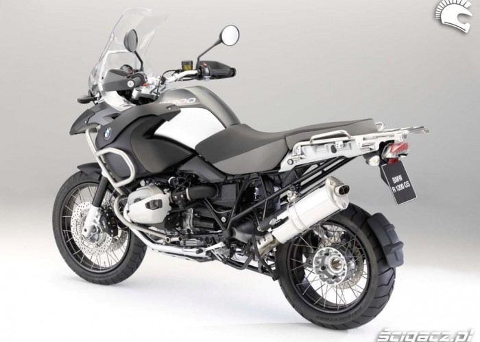 bmw r1200gs 2010 adventure lewy tyl