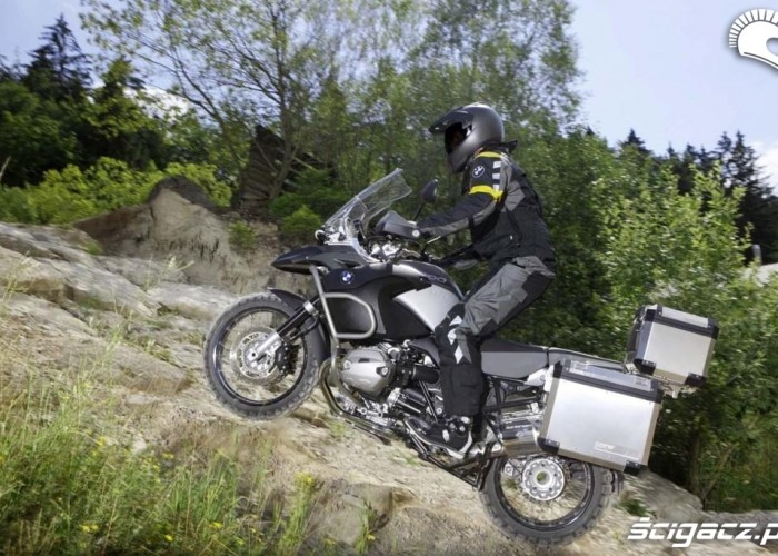 bmw r1200gs 2010 adventure podjazd