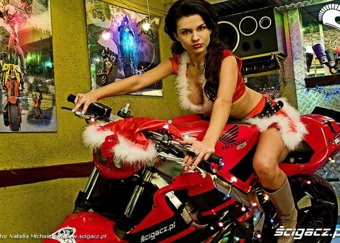 Honda CBR600 i dziewczyna