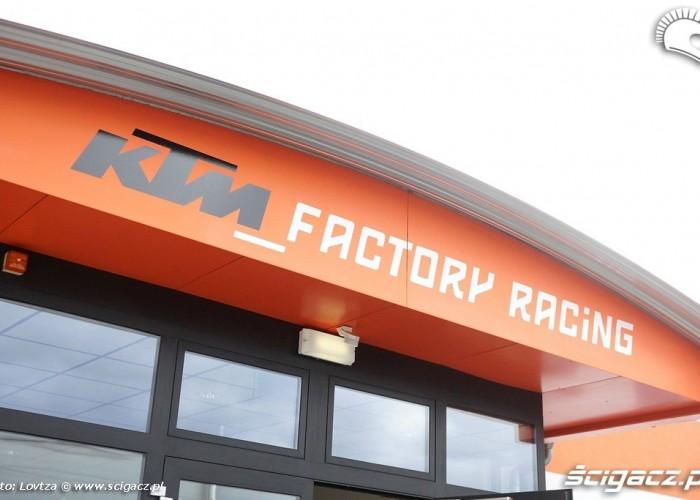Fabryka KTM Mattighofen dzial wyscigowy