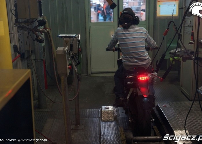 Hamowanie Duka Fabryka KTM