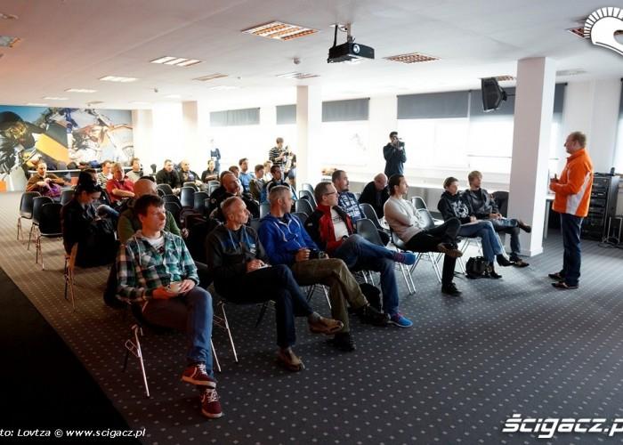 KTM Factory Tour 2013 dziennikarze