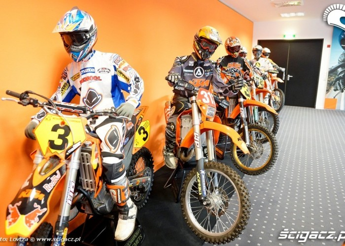 KTM Factory Tour 2013 motocykle mistrzoe