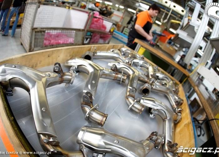Kolektory wydechowe Fabryka KTM