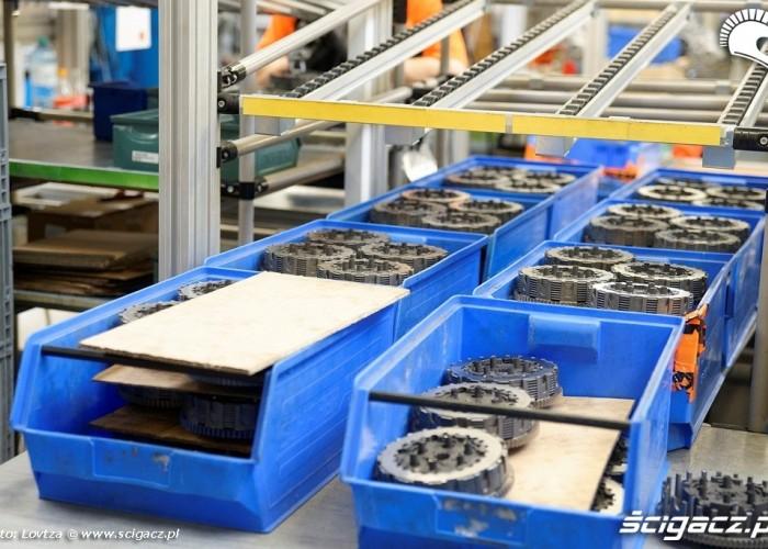 Kompletowanie sprzegiel Fabryka KTM