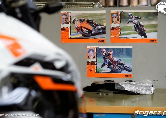 Lubia motocykle Fabryka KTM