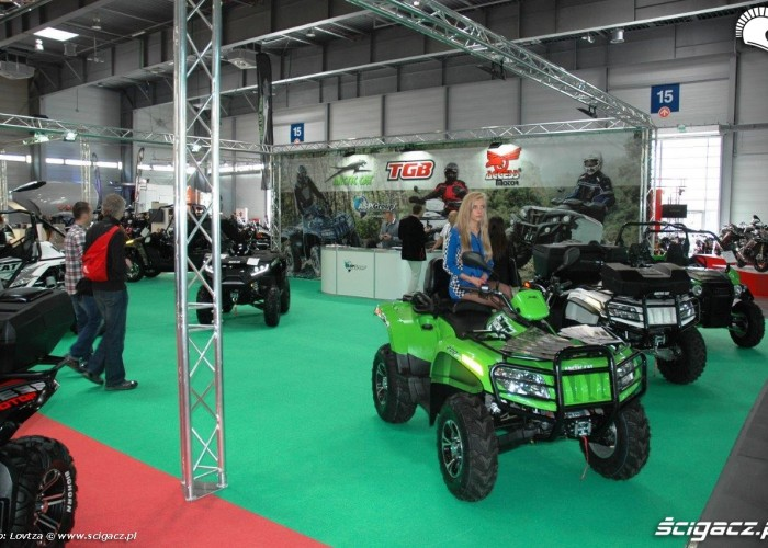 ATV Motor Show Poznan 2015
