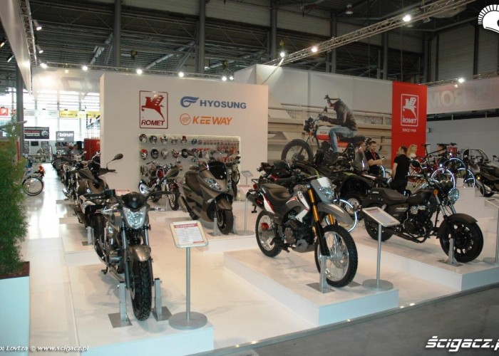 Hyosung Motor Show Poznan 2015