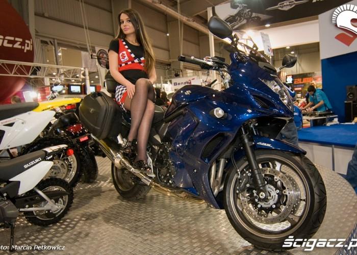 II Ogolnopolska Wystawa Motocykli i Skuterow 2010 GSXF1250