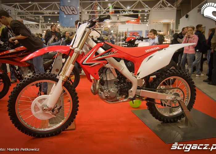 II Ogolnopolska Wystawa Motocykli i Skuterow 2010 Honda CRF