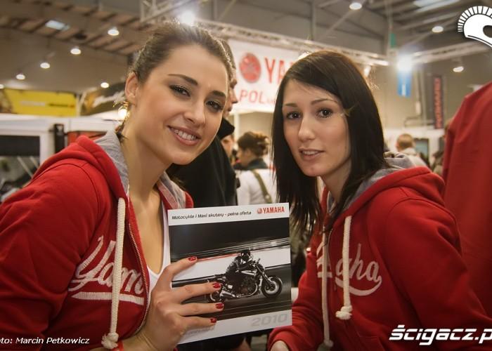 II Ogolnopolska Wystawa Motocykli i Skuterow 2010 Hostessy Yamaha