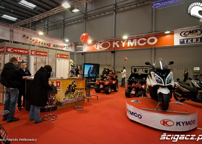 II Ogolnopolska Wystawa Motocykli i Skuterow 2010 Kymco