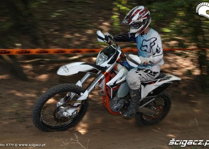 450 kontra 350 porownanie KTM EXCF350
