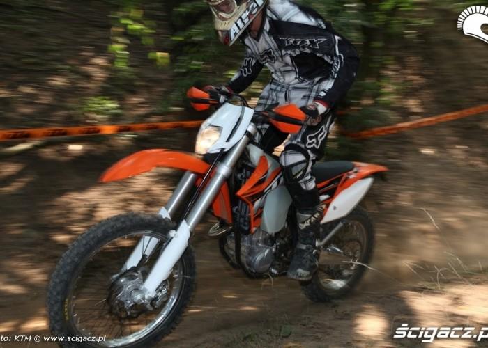 450 kontra 350 porownanie KTM Enduro 450