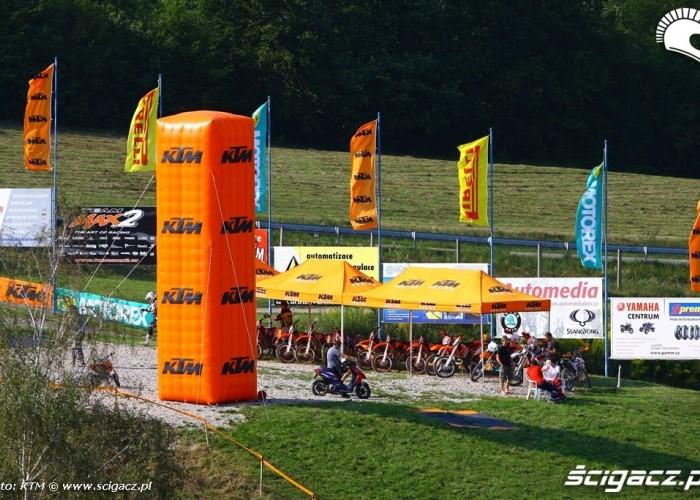 Park maszyn Prezentacja KTM 2013
