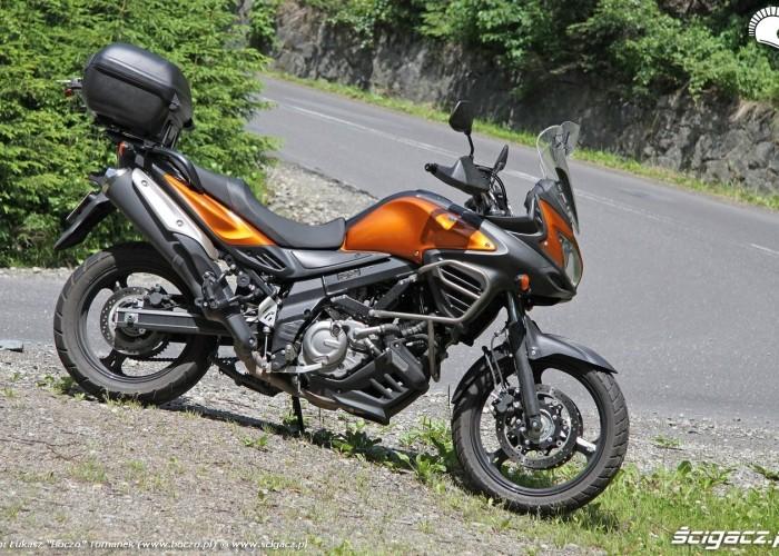 Suzuki w gorach