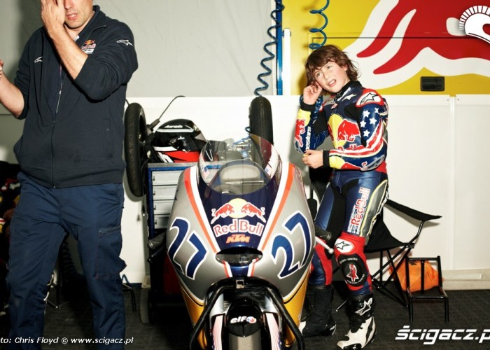 Chwila przed startem Red Bull Rookies Cup