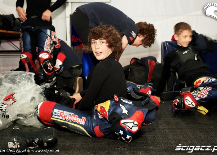 Red Bull Rookies Cup zawodnicy